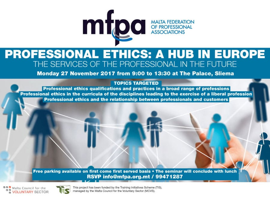 Professional Ethics: A Hub in Europe – The Services of the